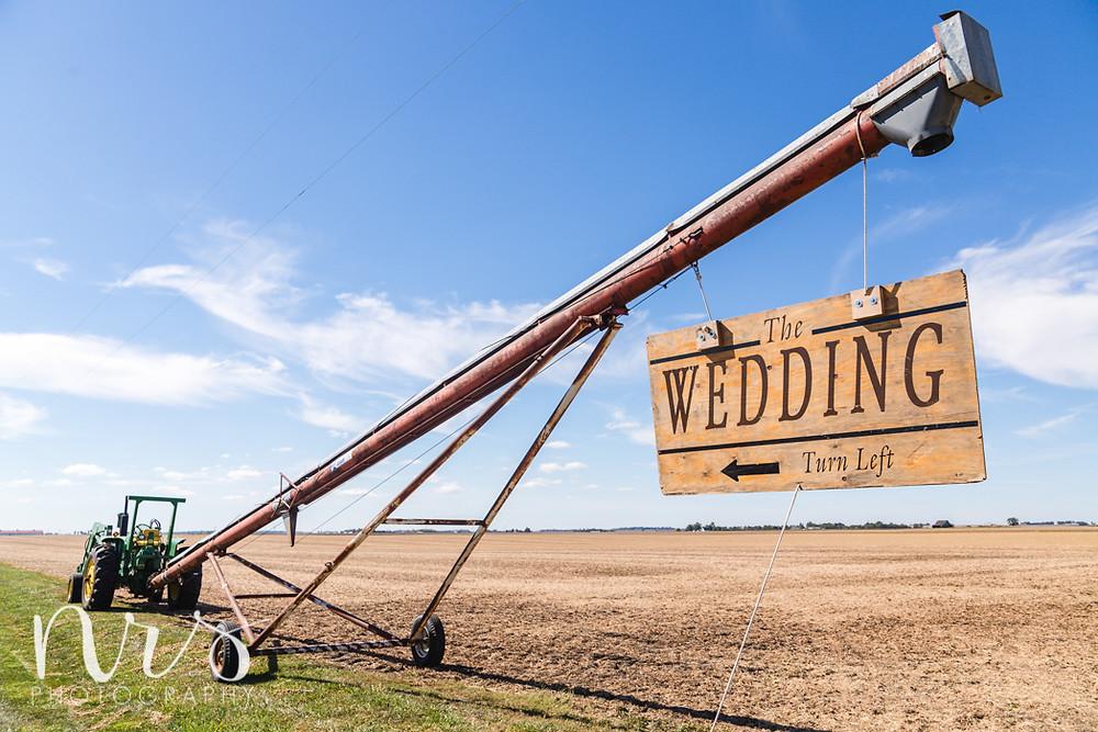 Hudson Farm Wedding, tractor