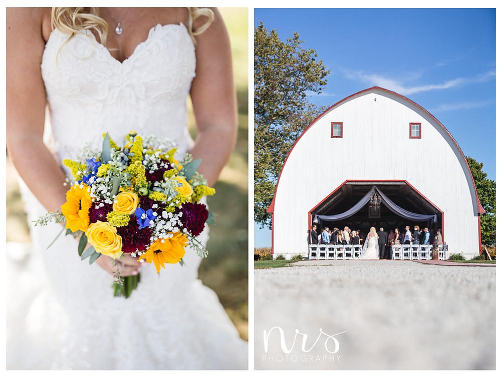 Hudson Farm Wedding, florist