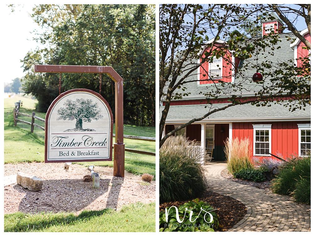 Timber Creek Bed & Breakfast Wedding, Paxton IL