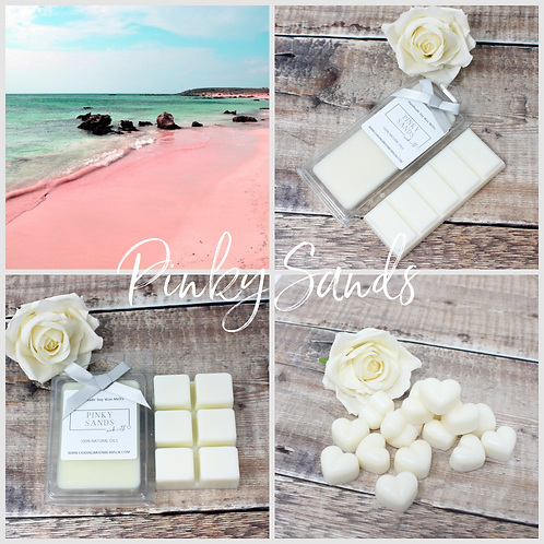 Pinky Sands Soy Wax Melts Highly fragranced