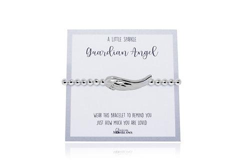 A little sparkle guardian angel bracelet