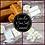 Thumbnail: Cashmere Vanilla & Sea Salt Caramel Soy Wax Melts Highly Fragranced