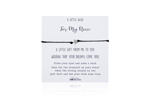 A little wish for my niece
