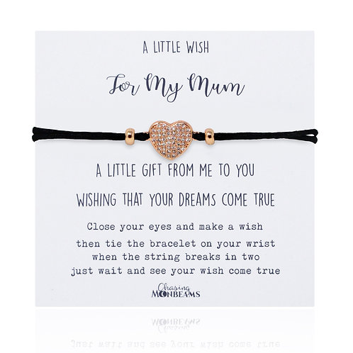 A little wish for my mum bracelet