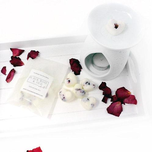 Luxury Natural Rose Petal Botanical Soy Wax Melts Strong Fragrance