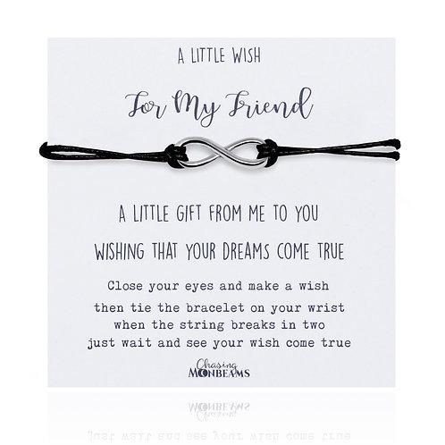 A little wish for my friend bracelet