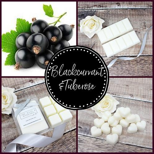 Blackcurrant & Tuberose Soy Wax Melts Highly Fragrance