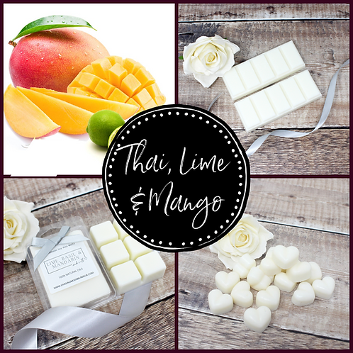 Thai Lime & Mango Soy Wax Melts Highly Fragranced