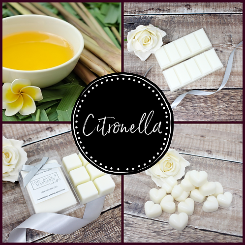 Citronella Soy Wax Melts Highly Fragranced