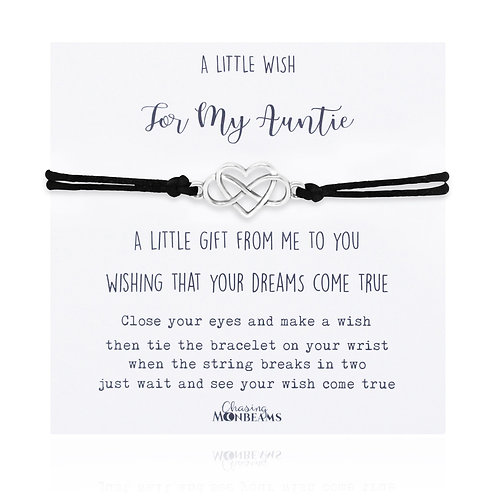 A little wish for my auntie bracelet