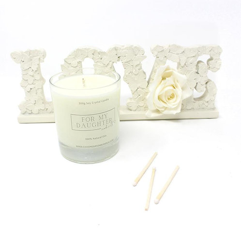 Daughter Luxury Handmade Candle For My Daughter Gift Boxed