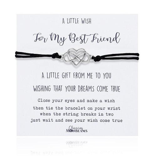 A little wish for my best friend bracelet