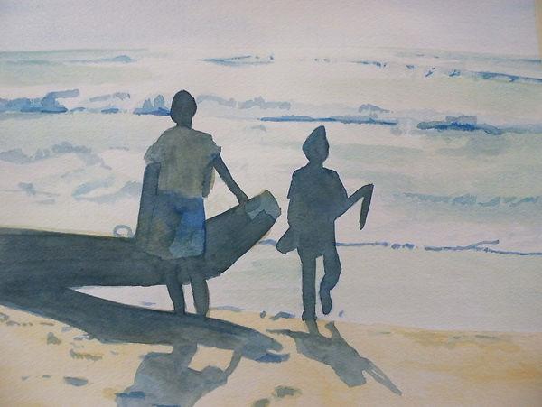 Morning Fishermen - India.jpg