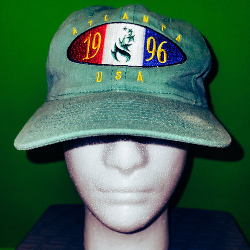 Atlanta Olympics Green Hat