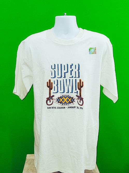 NFL Super Bowl 1996 Shirt Medium