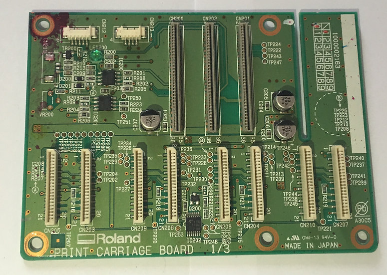 VP-540 Assy, Print Carriage Board - W700461110