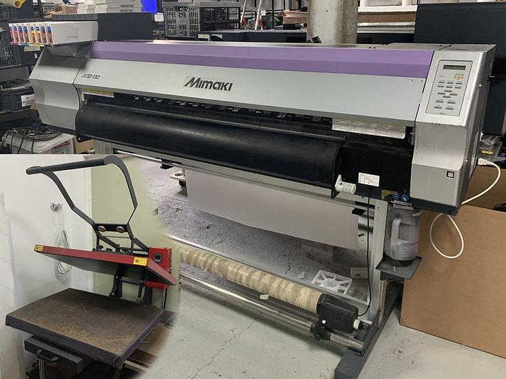 Imprimante sublimation Mimaki JV33-130 avec presse 80x60
