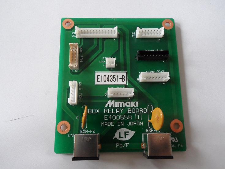 Mimaki - JV5-160S Box Relay PCB Assy - E104351