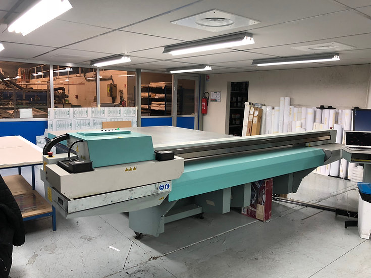 Table a plat UV Haute production Fuji Acuity 3545W X2