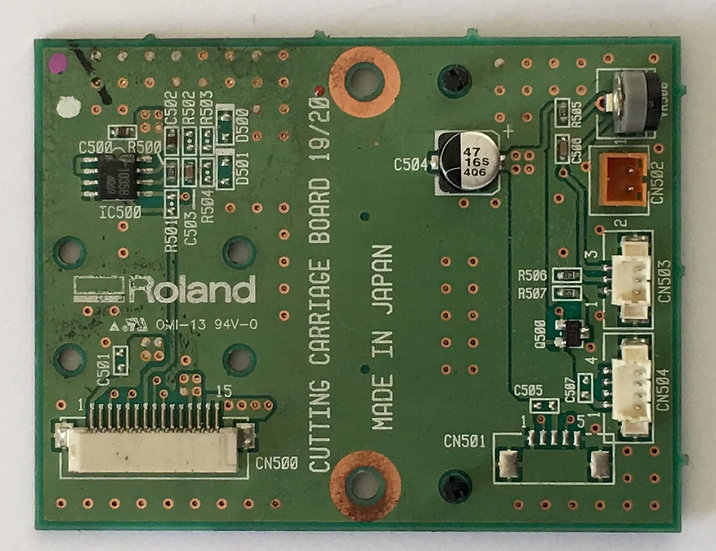 SP-300 Cut Carriage Board - W8406050E0
