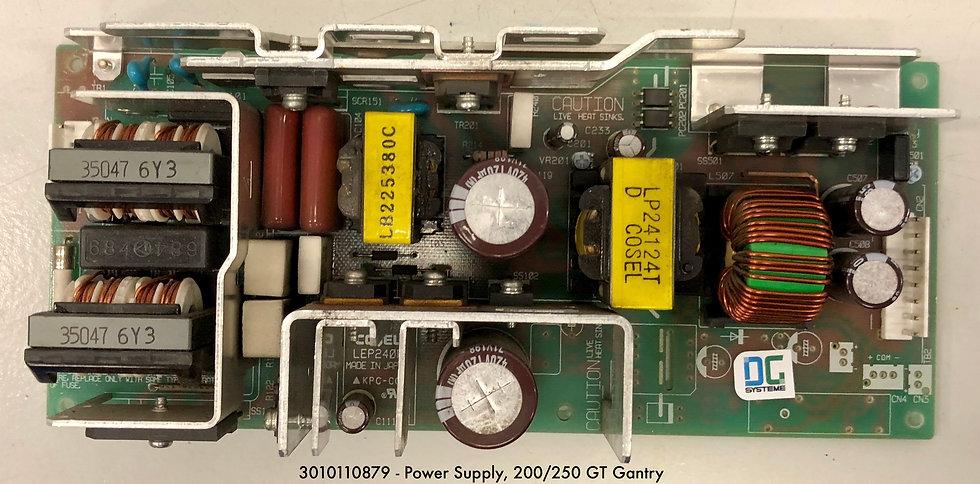 3010110879  - Power Supply, 200/250 GT Gantry