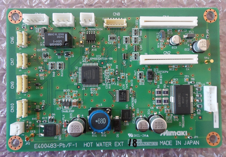 Mimaki - JF-1631 Warm Water Control PCB Assy - E103728