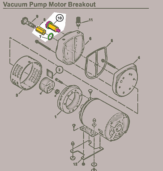 F/S VAC Pump Filter - 3010110463