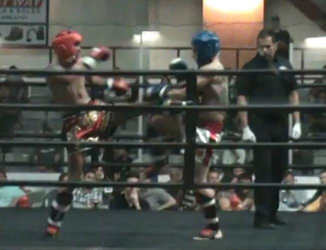 Amateur Muay Thai Kickboxing