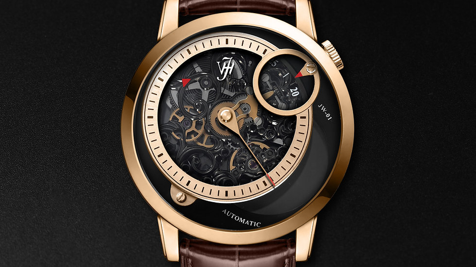 JW-01 Rose Gold Plated