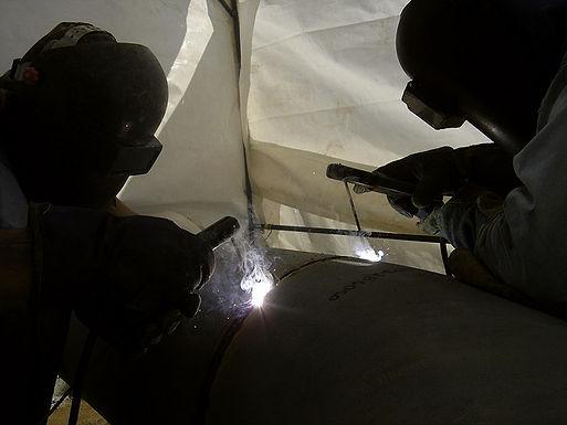 Soldadura de tubería con electrodos básicos y celulósicos