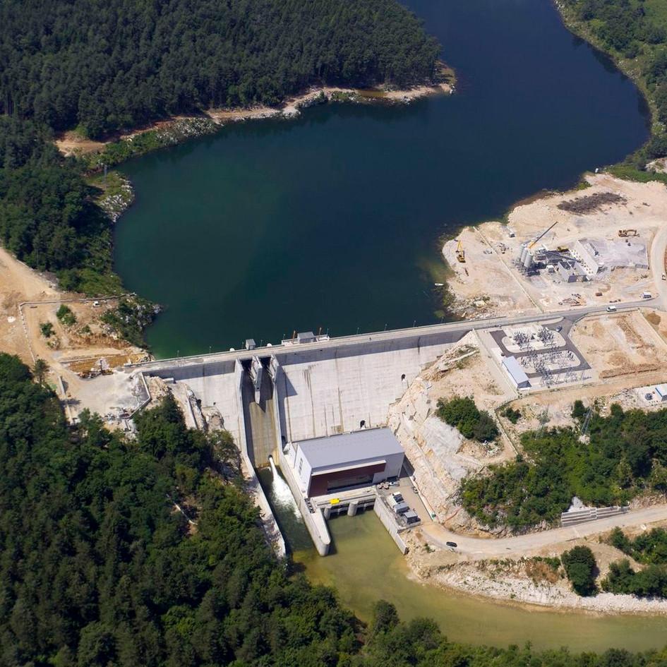 Hidroelektrana Lešće