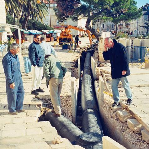 Kolektor odvodnje Grada Hvara