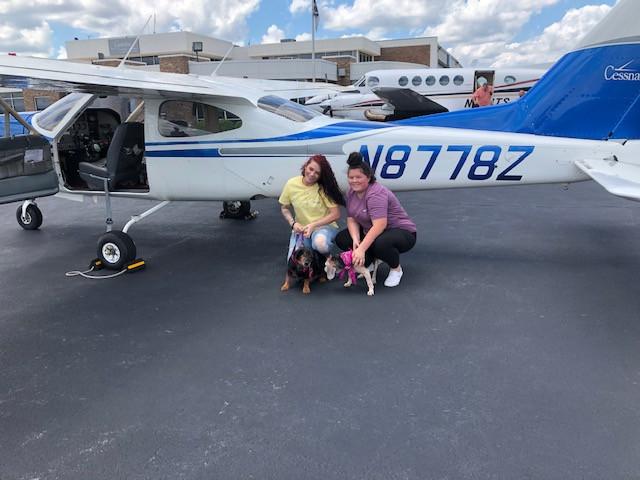 A 3-Dog Freedom Flight