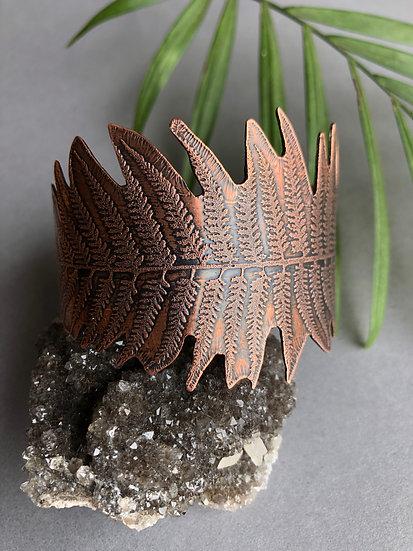 PNW fern cuff