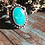 Thumbnail: Little Turquoise w/ball on disc Ring