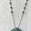 Thumbnail: Large Turquoise Necklace