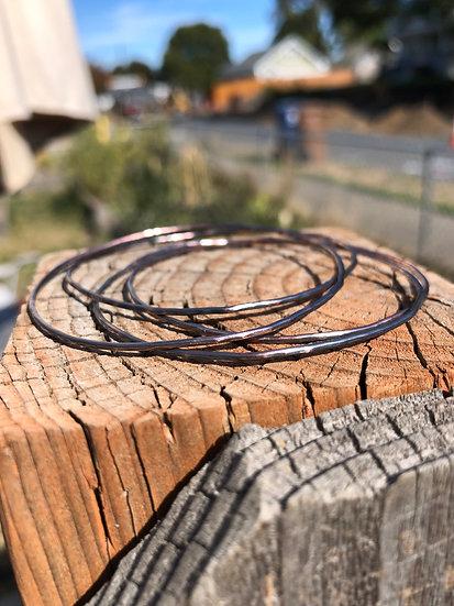 Copper bangles stack