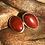 Thumbnail: Red jasper studs