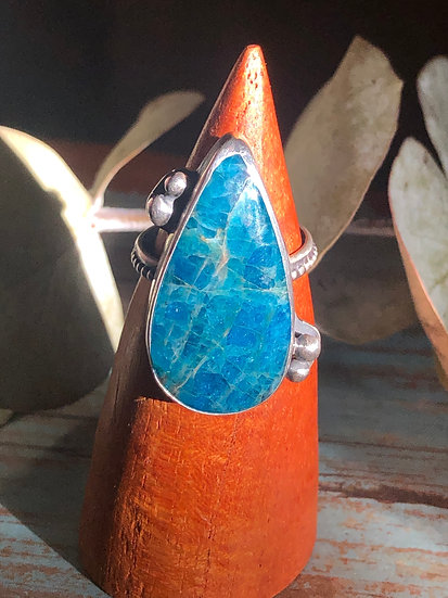 Apatite and silver