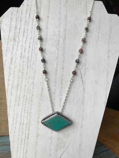 Large Turquoise Necklace