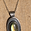 Thumbnail: labradorite and lotus necklace