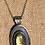 Thumbnail: labradorite and lotus necklace