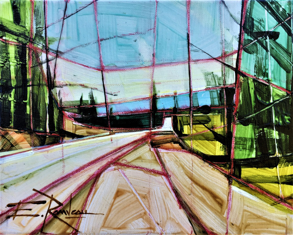 The side road - Le chemin de traverse