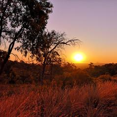 Sunset at the range