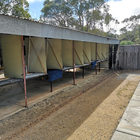 50m range stalls