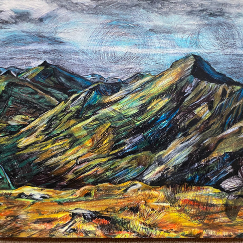 'Aonach Enach Ridge'2020. For sale.