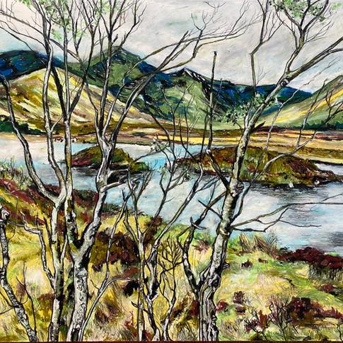 'Rannoch Moor' 2021. For sale.