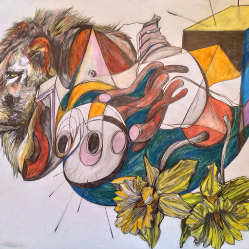 'Sea Lion'- My Machines No.O' 2016. For Sale..