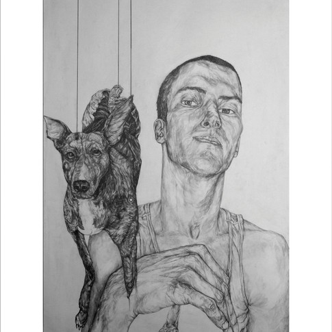 ' Man and two gods' 2009. *SOLD