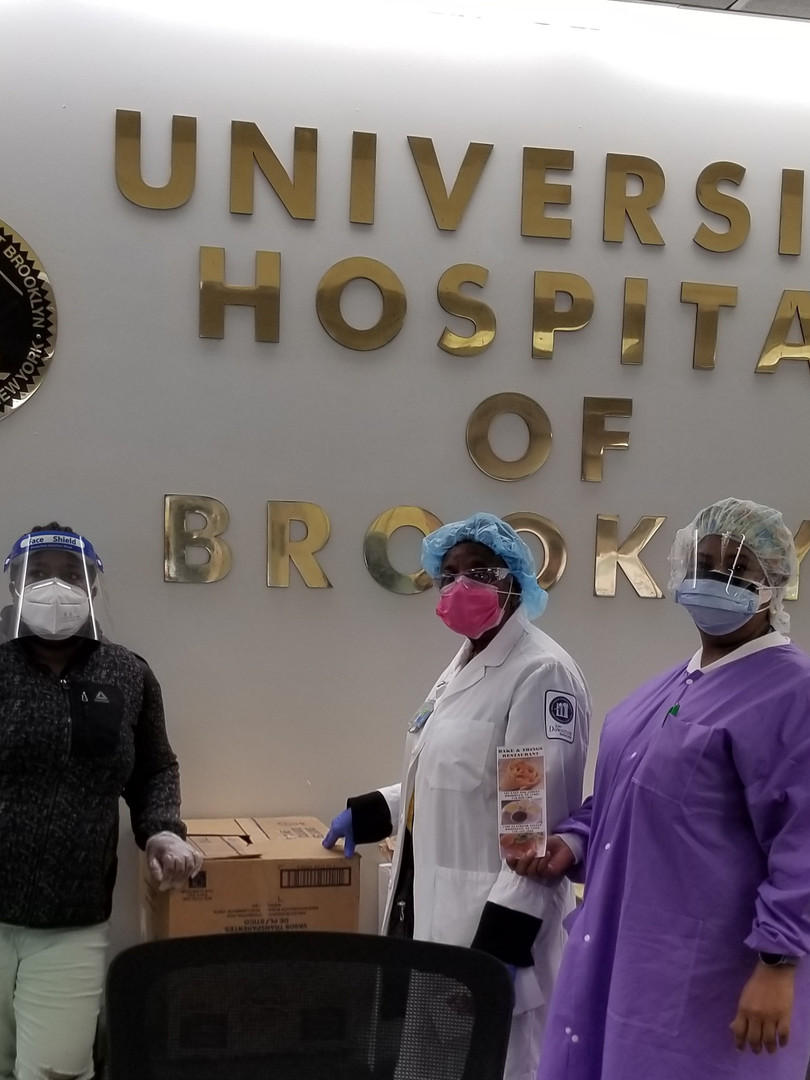 At SUNY Hospital providing lunch for ICU